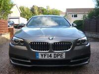 2014 BMW 5 SERIES 518D manual 4 door saloon