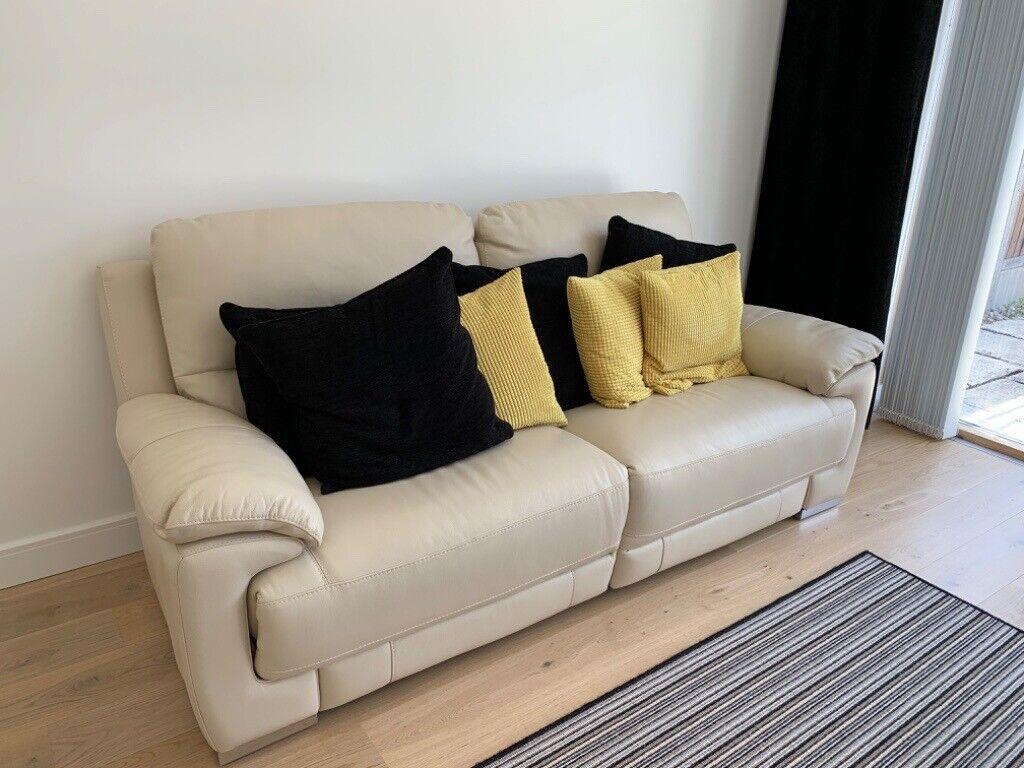 High Quality Leather Sofa ONO | in Barnet, London | Gumtree