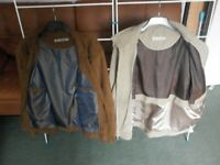 Gents suede looking jacket XL