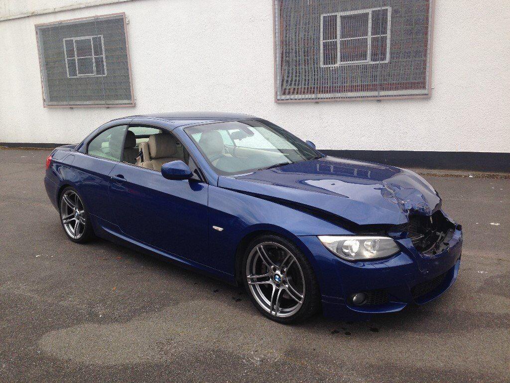 BMW I M SPORT E CONVERTILBE AUTO DCT BLUE DAMAGED - 2010 bmw 335i m sport