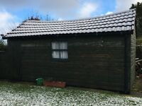 Large Shed with Tile Roof