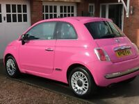FIAT 500 PINK 1.2 LOUNGE LIMITED EDITION