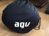 AGV Compact Motorbike Helmet with Pinlock Anti-Fog Insert. Size Large.