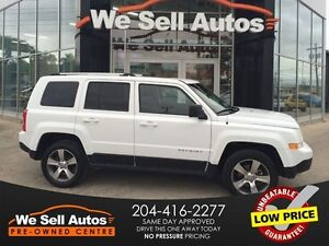2016 Jeep Patriot High Altitude 4x4 *BTOOTH *LEATHER *MP3 *AUX