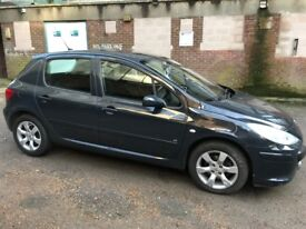 2006 Black Peugeot 307 diesel with long MOT