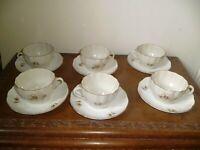 VINTAGE 1950/60'S 12 PIECE TEA SET