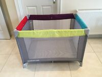 Mothercare Travel Cot and Play Pen.