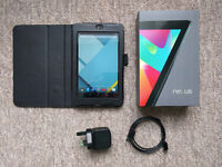 Google Asus Nexus 7 2012 Android Tablet - 16GB + case