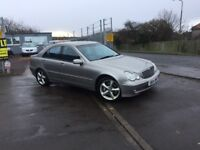 2004 MERCEDES C220 CDI (diesel) AUTOMATIC GEARBOX- GOOD CONDITION- COMES WITH 3 MONTHS WARRANTY-