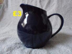 Blue Vase & Blue Jug