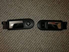 Inside door handles Vw: 3 B2 837 113 & 3 B2 837 114 and mirrorr regulator