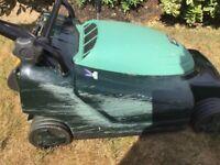 Hayter Electric Lawnmower