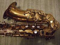 Lupifaro Silver Series alto saxophone - virtually unused