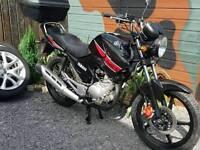 2013 Yamaha YBR 125cc learner legal. Low miles