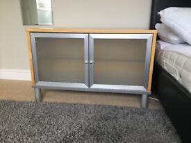 IKEA Low Level Cupboards and Display Wall Unit