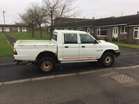 2004 mitsubishi l200 crew cab 4 work same owner for last 9 years first to see will buy £1575ovno