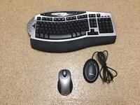 Microsoft wireless keyboard and mouse