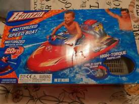 Speed boat blaster