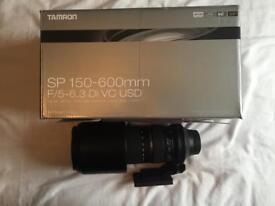 Tamron SP 150-600mm F/5-6.3 Di VC USD lens (Nikon)