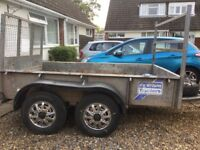 This is a 2 ton trailer Ifor Williams good condition too big for me so buying a smaller one