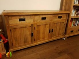 Mango Wood Sideboard (oak furniture land)