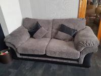 DFS Cordroy Aranby sofa 2-3 seater