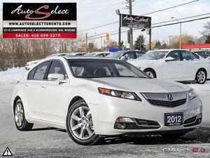 2012 Acura TL ONLY 93K! **TECHNOLOGY PKG** CLEAN CARPROOF