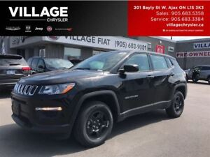2017 Jeep Compass Sport|4x4|DEMO|9SPD AUTO|Bluetooth|