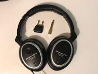 Audio-Technica QuietPoint ATH-ANC7b Active Noise-cancelling headphones, RRP £185