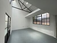 Incredible creative space, warehouse workshop office commercial property beauty to rent in Wembley.
