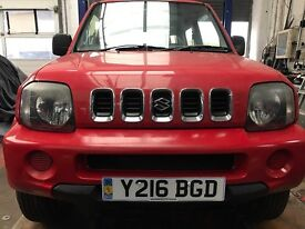 GREAT SUZUKI JIMNY 4x4 FULL 12MONTS MOT FULL SERVICE PART EXCHANGE WELCOME