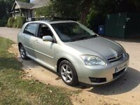 2004 toyota corolla t-spirit vvti AUTOMATIC 1.6 petrol with new MOT with 3 month warranty