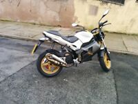 Gilera DNA 50cc - Uprated and Modified