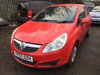 2007 ultra reliable in a super sexy red vauxhal corsa 1.2 life low insurance and tax!! Superb cond