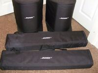 bose l1 compact brand new condition with original carrying bags and box