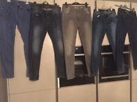 5 Pairs of Men's River Island Jeans