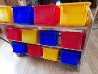 Kids storage unit, GLTC good condition