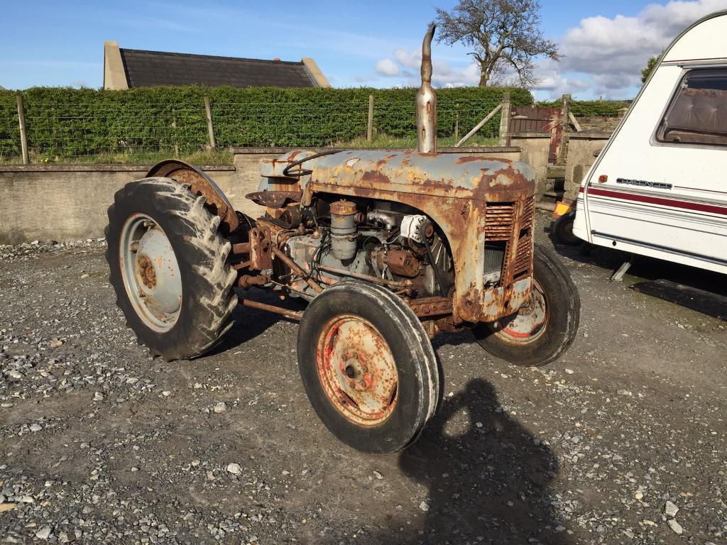 T20 Ferguson Tractor : Ferguson p t massey in limavady