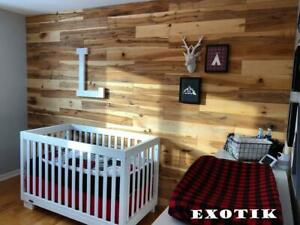 Barn wood / Barn board / Reclaimed wood / Accent wall