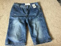Boys denim summer shorts