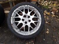 BBS RXII Golf Mk3 Anniversary split rim alloy wheels