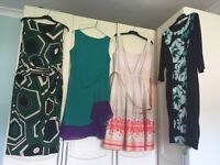 Woman selection of dresses size 14
