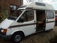 Ford Autosleeper Flair motorhome - high top, great condition, low mileage