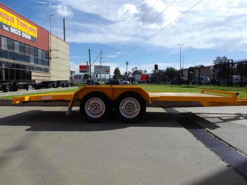 CAR TRAILERS BEAVER TAIL BY UNIQUE TRAILERS | Trailers | Gumtree ...