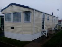 Caravan for Hire in Trecco Bay, Porthcawl.Four bedrooms ,sleeps Eight.