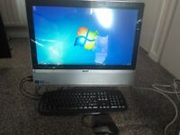 large 22, inch touchscreen acer