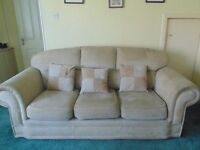 FREE Three Piece Suite (three seater settee and two chairs)