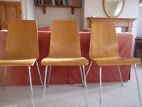 Dining Chairs x 3 - Need extra seating for Christmas?