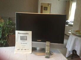 Panasonic TX-23LXD50 TV, flat screen, proceeds to go to Wells United Charities