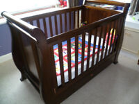 Sleigh Cot / Bed by Boori Country
